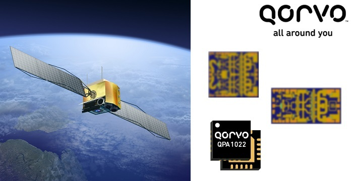 Qorvo Launches High Performance Power Amplifiers for X-Band & SATCOM Applications